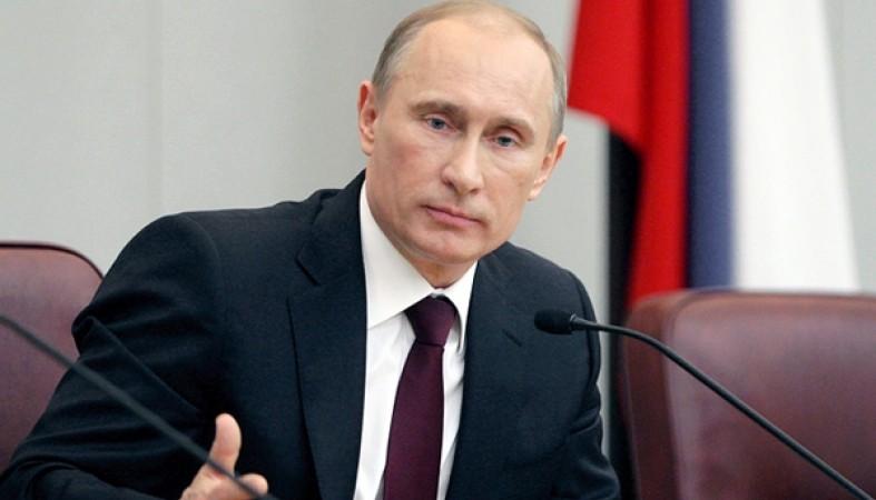 "Путин поздравил членов партии ""СР"""