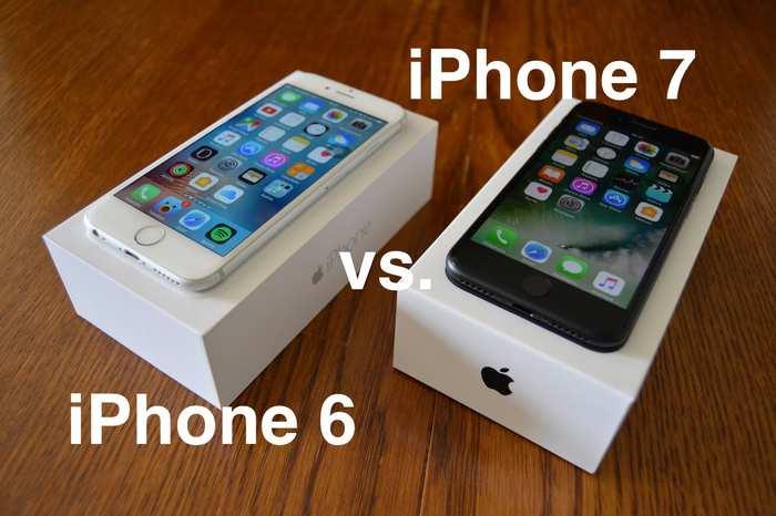 iphone7 i 6