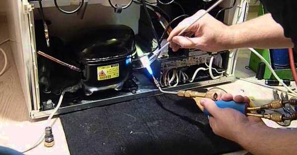 zamena kompressora