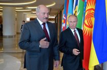 Лукашенко устроил демарш перед Путиным на саммите СНГ