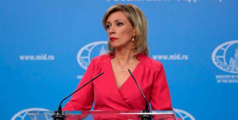 Захарова оправдалась за грубость в адрес россиян