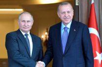 Эрдоган пообещал Путину мир в Сирии при одном условии