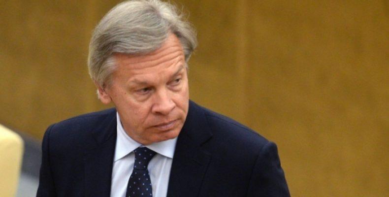 Пушков ответил на критику Волкера