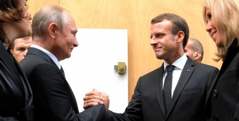 Политолог: Путин и Макрон делают из Украины разменную монету