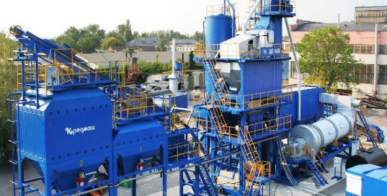 Асфальтосмесительные заводы Кредмаш: оборудование под ключ