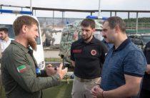 Кадыров продемонстрировал сыну Лукашенко возможности спецназа в Гудермесе