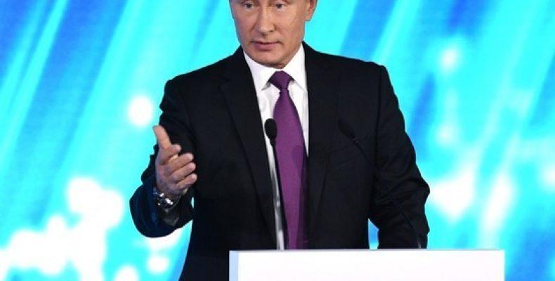 Путин назвал целью санкций США вытеснение России с рынка энергоносителей
