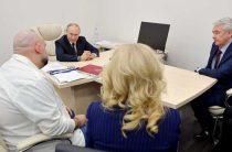 Путина привезли в госпиталь для больных коронавирусом