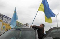 В Крыму высмеяли запуск украинского флага в сторону полуострова
