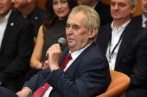 Президент Чехии контактирует с украинскими сепаратистами