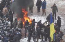 Радикалы склоняли депутатов к «деоккупации Донбасса» с помощью горящих шин
