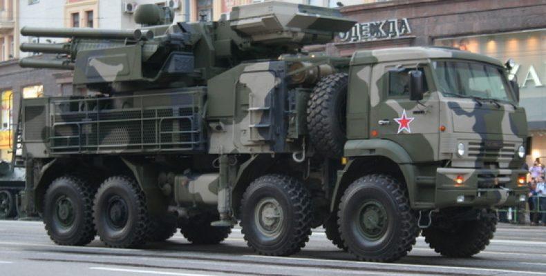 В США признали уникальным российский комплекс «Панцирь-С»
