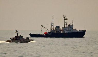 Россию тащат в суд за помощь украинским кораблям