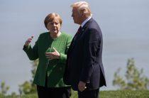 Эксперты прокомментировали «конфетный» инцидент Трампа и Меркель: «Показал «кузькину мать»