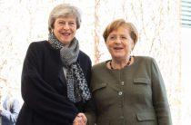 Меркель пропустила встречу с Мэй