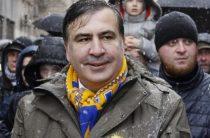Саакашвили предложили съесть галстук