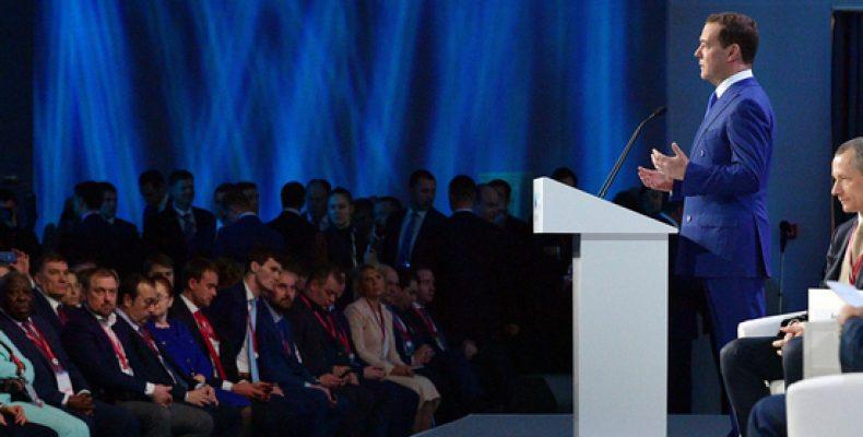 Поведением на форуме в Сочи Медведев продемонстрировал «крепость правительства»