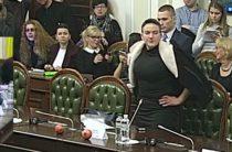 Савченко достала гранаты в Раде
