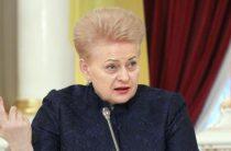Россия ответила на санкции Литвы