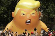 В Лондоне Трамп испытал на прочность британскую сдержанность «училки» Мэй