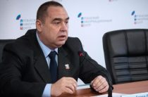Главу ЛНР обнаружили в России