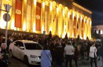 Приговор убийцам школьников стал поводом для майдана в Тбилиси