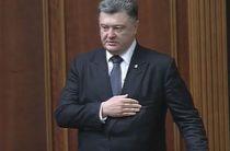 Порошенко пообещал громкое возвращение гимна Украины в Крым, манипулируя детьми