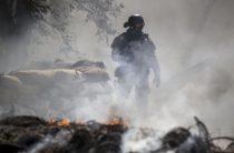 Военнослужащие ВСУ поджигают села Донбасса