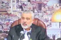 Лидер ХАМАС объявил «интифаду» Израилю и «палестинскую бурю» США