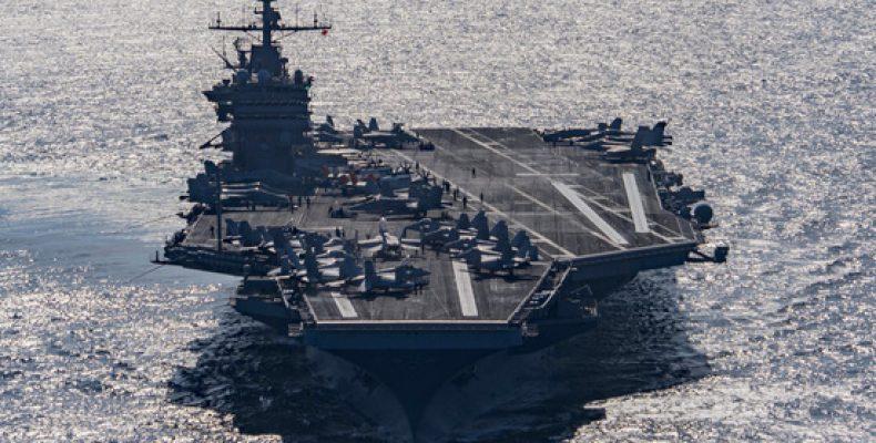 США отправили к Сирии ударную группу с авианосцем «Гарри Трумэн»
