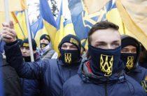 Украинские радикалы напали на блокадников