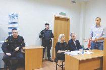 Навальный ждет вердикта