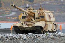 Минобороны показало стрельбу высокоточными снарядами «Краснополь»
