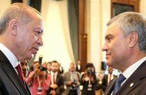 Володин провел встречу с президентом Турции
