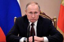 Путин уволил четырех генералов