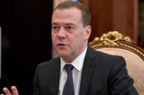 Украинцы возмутились поездкой Медведева в Крым