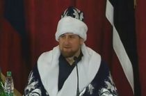 Кадыров обменялся с Дедом Морозом приглашениями в гости