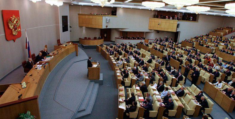 Ввод «фильтра от идиотов» в Госдуму