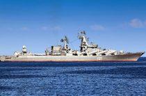 Поход росийских кораблей в море