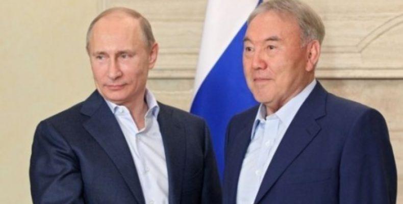 Путин и Назарбаев поговорили о Сирии