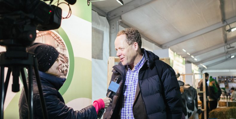 Крупнейший агрохолдинг «ЭкоНива» презентовал новый молочный бренд