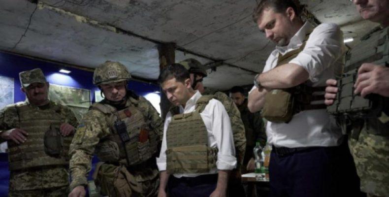 Зеленского в бронежилете подняли на смех в Донбассе