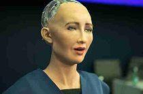 Искусственный разум бессилен: робот София сломалась после вопроса об Украине