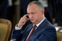 В Молдавии собирается президентский майдан