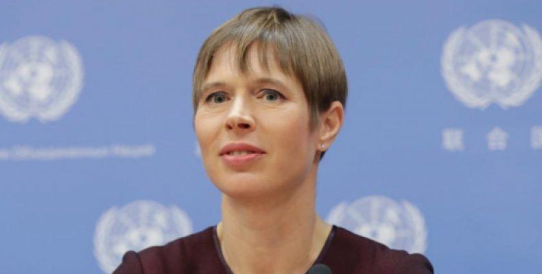 Президент Эстонии оправдалась за встречу с Путиным