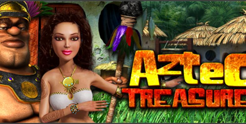 Настоящие сокровища в игровом автомате «Aztec Treasures»