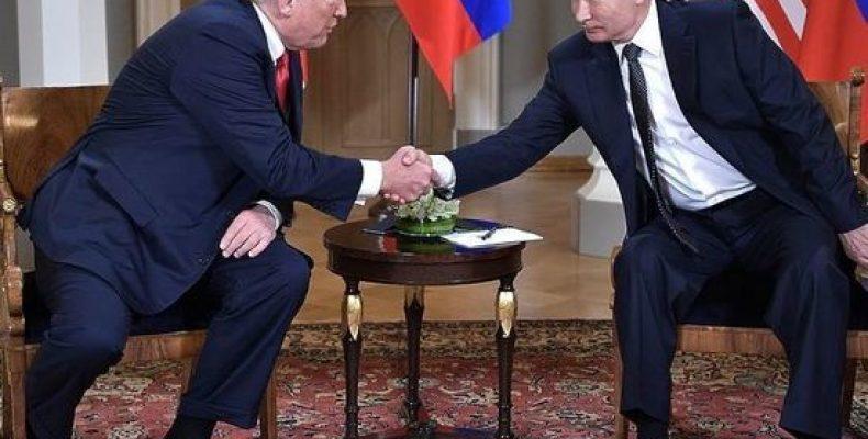 Bloomberg: Путин предложил Трампу провести референдум в Донбассе
