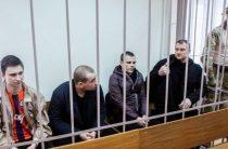 Киев отказался от задержанных в Керченском проливе моряков