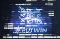 На здании ООН появилась проекция о победе Путина