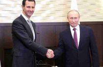 Путин рассказал о скором завершении военной операции в Сирии